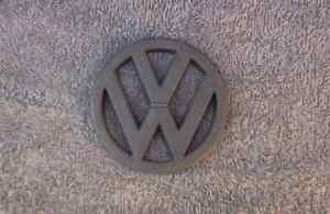 OEM Volkwagen, VW Body/Dash/Trunk Emblem. 8cm Black
