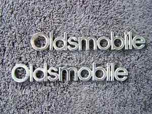 OEM Oldsmobile Body/Dash Emblems EXCELLENT Condition. Type 1