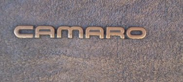 OEM Chevrolet Camaro GOLD color Body/Dash Emblem