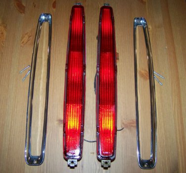 89-93 Cadillac DeVille & Hot Rod Tail Lights