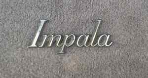 OEM Chevy Impala Body/Dash Emblem. 11.4cm