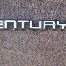 OEM Buick Century Body/Dash Emblem. Type 1