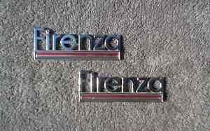 OEM Oldsmobile Firenza Body/Dash Emblems EXCELLENT Condition - Pot Metal