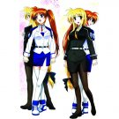 Magical Girl Lyrical Nanoha Dakimakura Hugging Body Pillow Cover N050