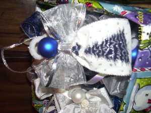 Handmade White & Blue Angel