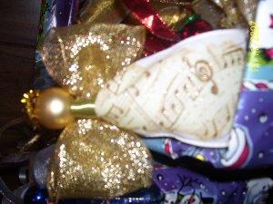 Handmade Gold & Music Notes Angel
