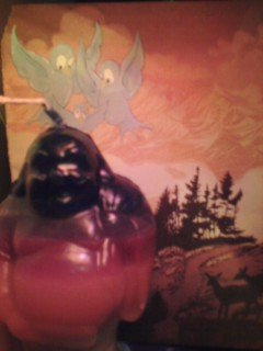 Medium Buddha Candle