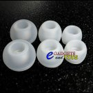 S/M/L Clear Replacement Silicone Ear Buds Gels Tips Skullcandy FMJ TiTAN 50/50 INK'D Earphones