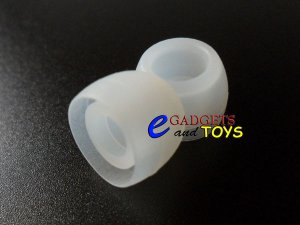 3 pair Clear Small Replacement Silicone Ear Buds Gels Tips for Ultimate Ears MetroFi 100 150 200