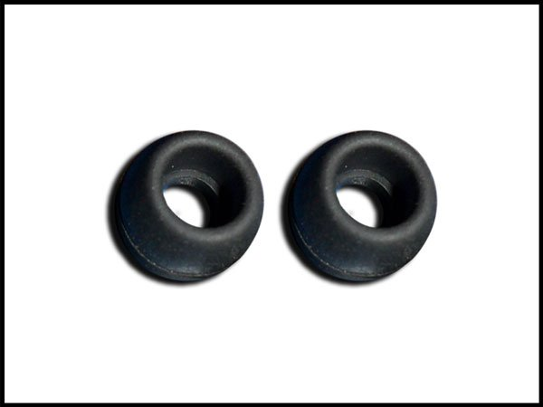 3 pair Black Small Scosche Replacement Ear Buds Tips Gels Sleeves Plugs