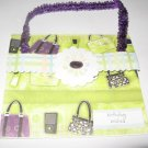 Birthday Wishes Purse Handmade Greeting Card B1