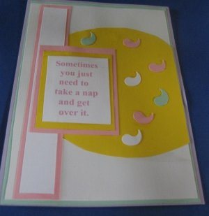 Sometimes handmade Greeting Card M3