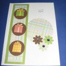Presents Birthday Handmade Greeting Card B10
