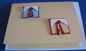 Shirt and tie Happy Fathers Day FD2 handmade greeting card