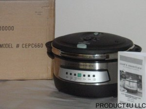 Cook's Essentials CEPC660 6 QT. Pressure Cooker