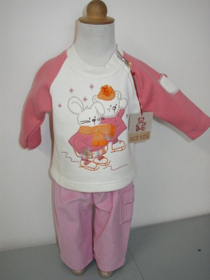 Early Fall SALE item- Patineur for Her -Size 6M