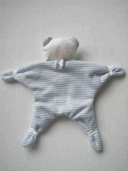 SUCETTE Antimicrobial Cotton Doudou- Grey. Imported.