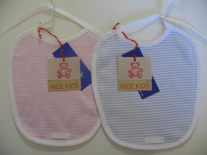 SUCETTE Antimicrobial Cotton Bib, Rose. Imported.
