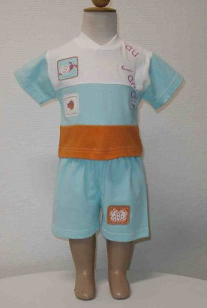 End of Summer SALE item- JARDIN Set- 12M, Imported from France, FREE SHIPPING