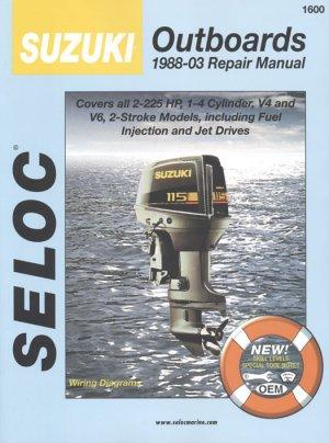 suzuki outboards 1988 2003   2 stroke engine repair
