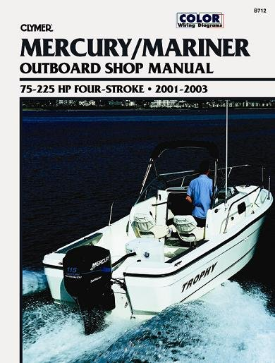 mercury mariner 75 225 hp 4 stroke outboards 2001. Black Bedroom Furniture Sets. Home Design Ideas