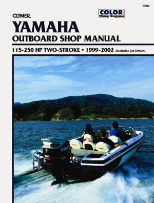 Yamaha 115 250 hp two stroke outboard and jet drives for Yamaha 90hp 2 stroke service manual