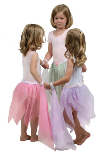 Girls Purple Fairy Dance Tutu - Ages 3-9