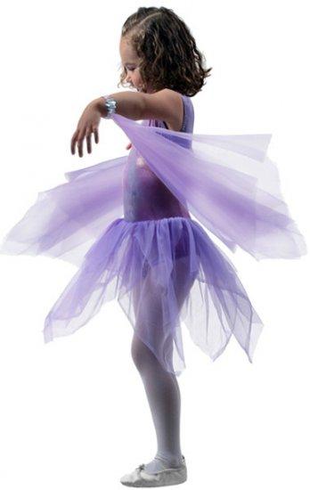 Girls Purple Dance Wrist Scarves