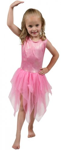 Girls Pink Fairy Costume - Size 8/10
