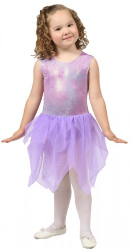 Girls Purple Fairy Dance Tutu - Size 4/6