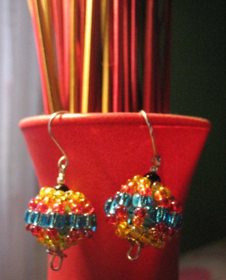 Spinning Top Earrings