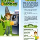 Smart kids save money Bookmark by Potty Mouth Soap