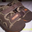 Old Navy Boys Sandals Tan w/orange Sz 6(12-18months)NWOT
