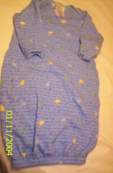 Child of Mine 0-3 Months -11lbs Blue Night Gown
