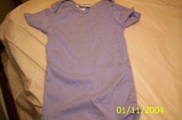 Carter's Blue Onesie 3-6 Months
