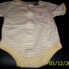 2Baby Connection Onsie Outfits 3-6 Month Yellow Ducks