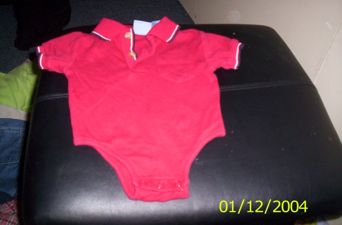 Red Koala Kids Onesie Out Fit 6 Months