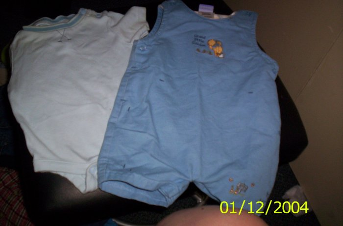 Disney 3-6 Months 12-17lbs Grand little Garden Outfit