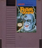 NES Fester's Quest Game Retro Vintage by Sunsoft