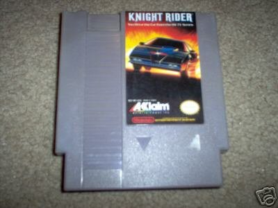 NES Night Rider Game by Akklaim Rare Vintage Retro