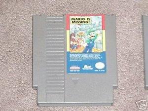 NES Game Mario is Missing Retro Vintage RARE