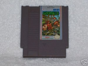 NES Guerrilla Game Retro Vintage Rare