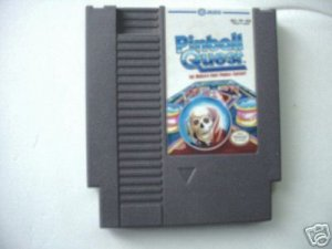 NES Pinball Quest Game Vintage Retro Rare!