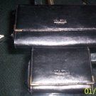Matching Black Via Fina Wallets Gently Used
