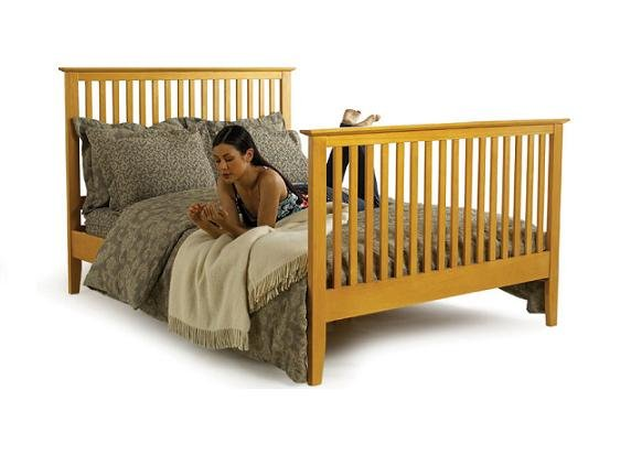 Malibu modern platform bed (beds) w/footboard full