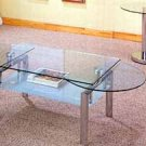 Glass Slide Top Coffee Table  7436