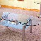 Glass Slide Top Coffee Table  7436