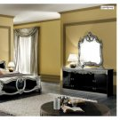 Barocco Black Bedroom Set Classic Unique Design Made In Italy