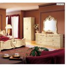 Barocco Ivory Traditional Bedroom Set