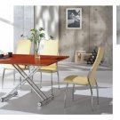 Contemporary Foldable 5 PC Dining Set